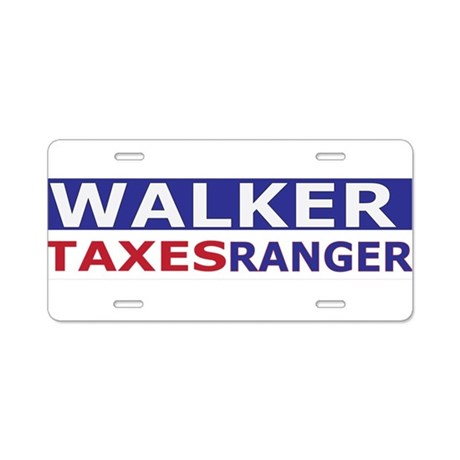 taxes ranger accessories Aluminum License Plate