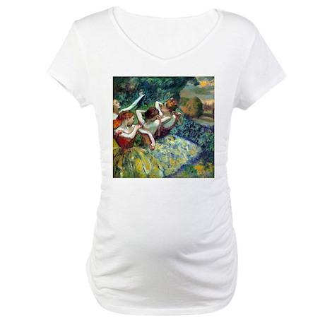 Dancers Maternity T-Shirt
