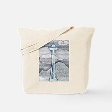 """I Love Seattle"" Tote Bag"