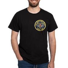 NJSP Bomb Squad Black T-Shirt