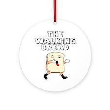 The Walking Bread Ornament (Round)