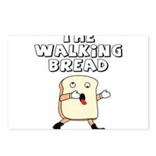 The Walking Bread Postcards (Package of 8)