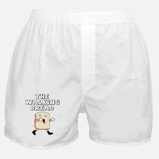 The Walking Bread Boxer Shorts