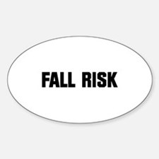 Fall Risk Decal