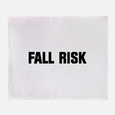 Fall Risk Throw Blanket