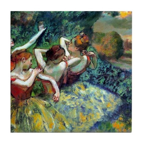 Dancers Tile Coaster