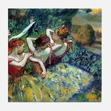 Dancers Tile Coaster