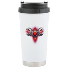 Red Pagan Triple Goddess Travel Mug