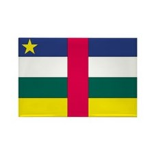 Central African Republic Rectangle Magnet