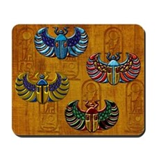 Harvest Moon's Jeweled Scarabs Mousepad