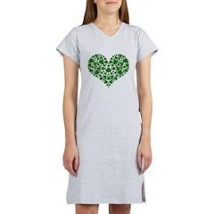 Shamrock Heart Women's Nightshirt