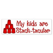 Stack-tacular Bumper Sticker