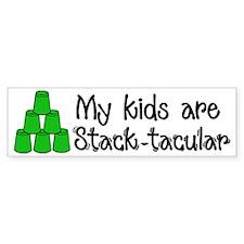 Stack-tacular Bumper Sticker