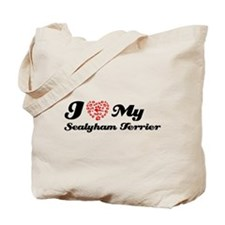 I love My Sealyhan Terrier Tote Bag