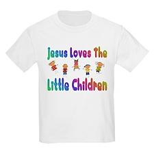 Baby Jesus Loves Kids T-Shirt