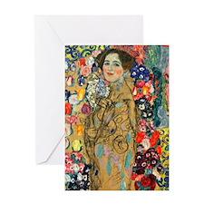 Klimt - Ria Munk Greeting Card