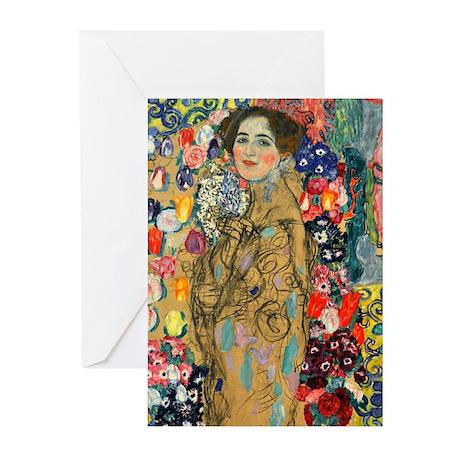 Klimt - Ria Munk Greeting Cards (Pk of 10)