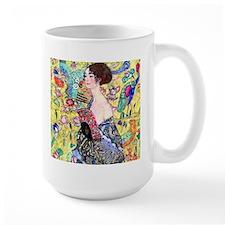Klimt - Lady w/Fan Coffee Mug