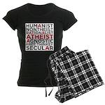 atheist Women's Dark Pajamas