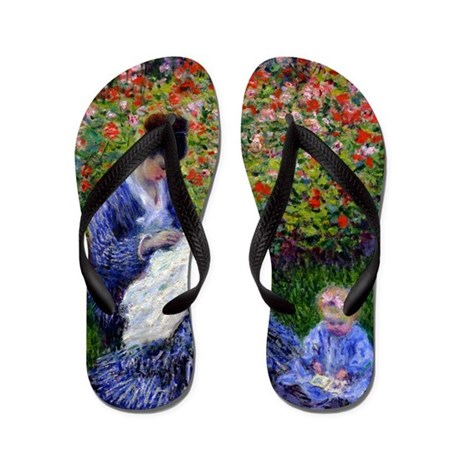 Monet - Camille & Child Flip Flops