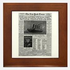 Milwaukee Sentinel Framed Tile