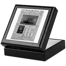 Milwaukee Sentinel Keepsake Box