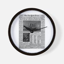 Milwaukee Sentinel Wall Clock