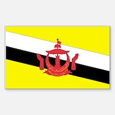 Brunei Rectangle Decal