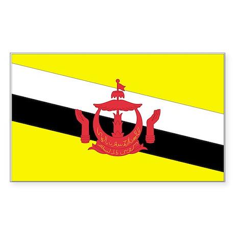 Brunei Rectangle Sticker