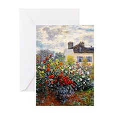Monet - Argenteuil Greeting Card