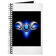 Blue Pagan Triple Goddess Journal