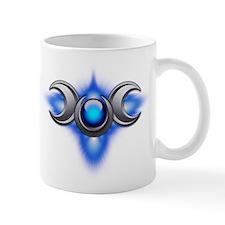 Blue Pagan Triple Goddess Mug