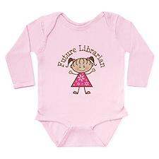 Future Librarian Long Sleeve Infant Bodysuit