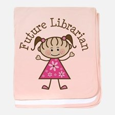 Future Librarian baby blanket