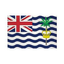 British Indian Ocean Territory Rectangle Magnet