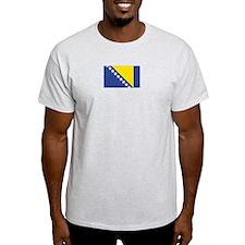 Bosnia-Herzegovina Ash Grey T-Shirt