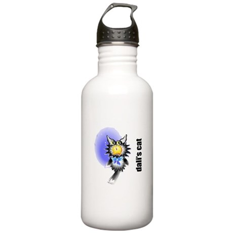 Salvador Dali's Cat Stainless Water Bottle 1.0L