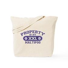 Maltipoo PROPERTY Tote Bag