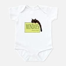Mondays Should Be Illegal Infant Bodysuit