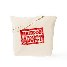 Maltipoo ADDICT Tote Bag