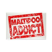 Maltipoo ADDICT Rectangle Magnet
