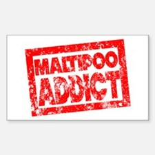 Maltipoo ADDICT Decal