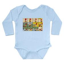 Comic Character Long Sleeve Infant Bodysuit
