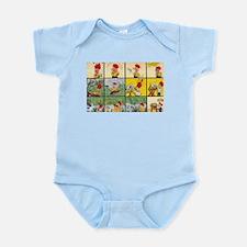 Comic Character Infant Bodysuit