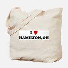 I Love Hamilton Tote Bag