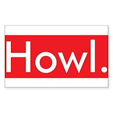 Cute Howl Decal
