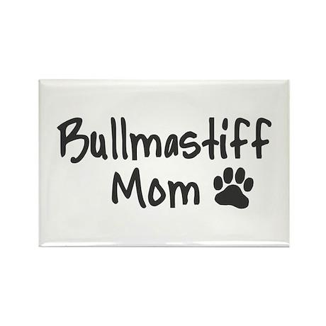 Bullmastiff MOM Rectangle Magnet