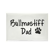 Bullmastiff DAD Rectangle Magnet