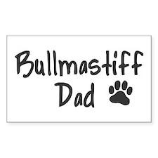 Bullmastiff DAD Decal