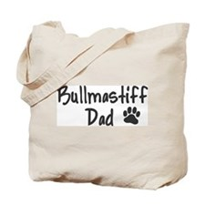 Bullmastiff DAD Tote Bag